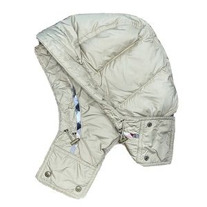 BURBERRY Womens Quilted Down Puffer Jacket Hood